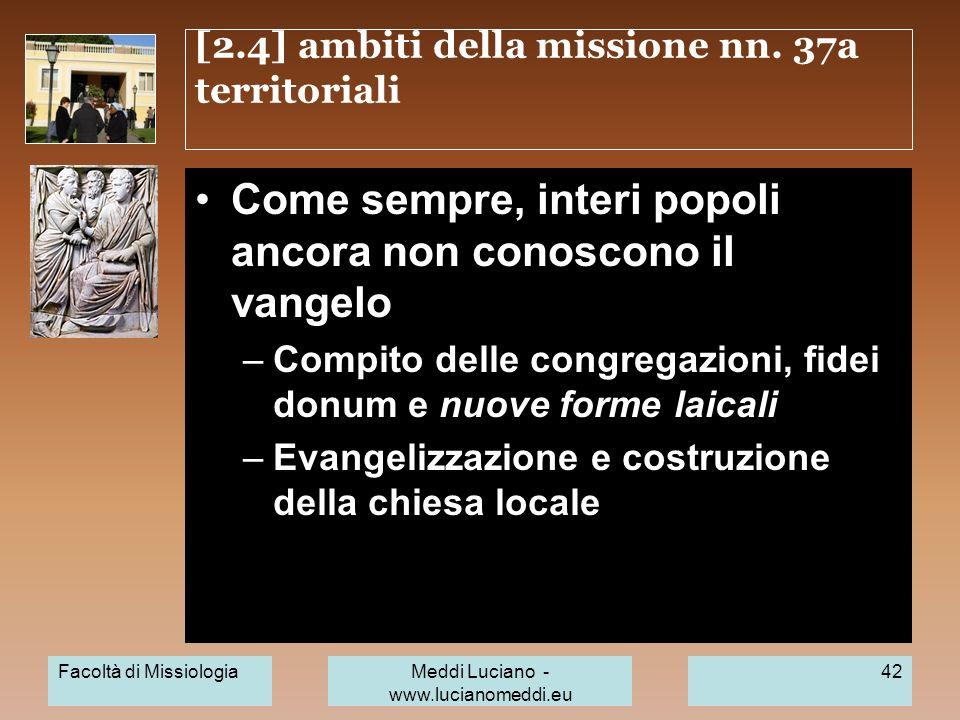 [2.4] ambiti della missione nn. 37a territoriali